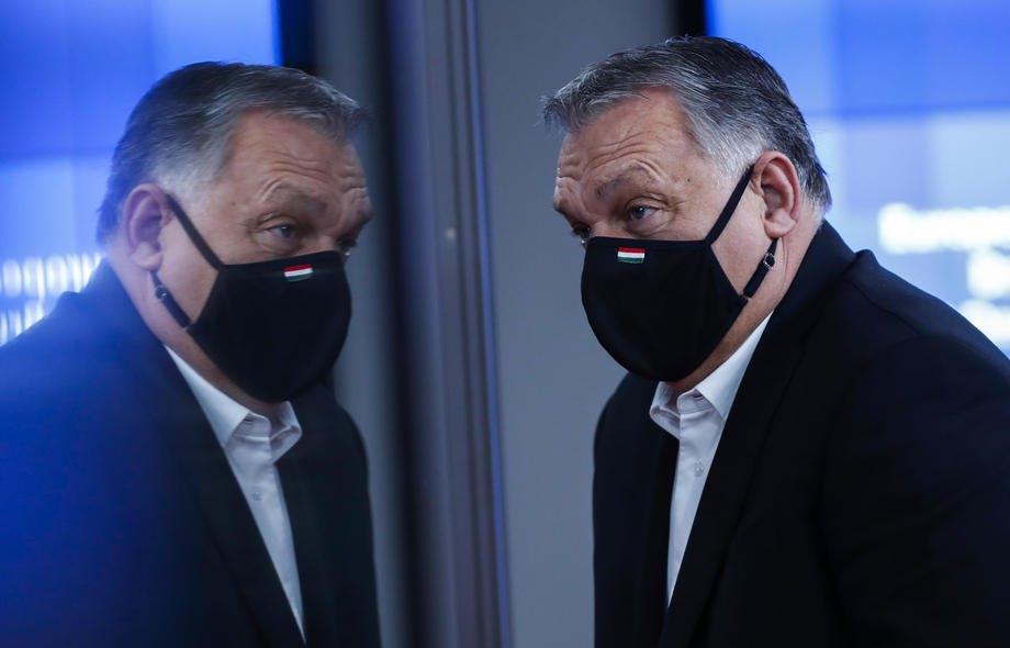 Прем'єр-міністр Угорщини Віктор Орбан після саміту ЄС у Брюсселі, 11 грудня 2020 р.