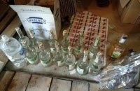 В Киеве изъяли 26 тонн контрафактного алкоголя