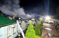 В Одессе горел монастырь УПЦ МП