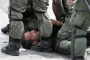 Акцию протеста в Греции разогнали слезоточивым газом