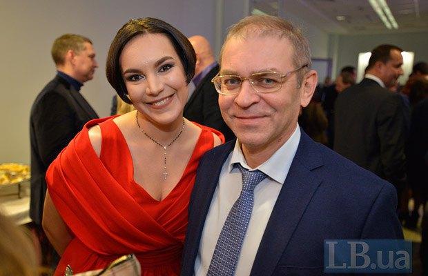 Сергей Пашинский и Соня Кошкина