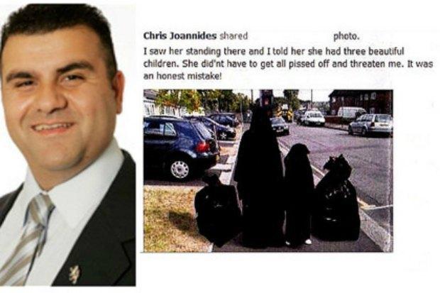 Крис Джоанидис и его удаленный пост в Facebook
