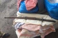 На въезде на оккупированную часть Донбасса задержали мужчину с мечом самурая