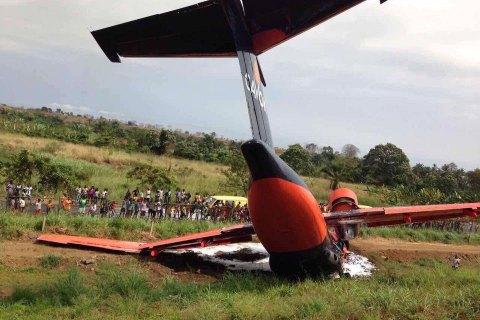 Наострові Сан-Томе розбився український вантажний літак