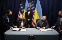 Міністри енергетики України та США у присутності Зеленського підписали заяву щодо посилення співпраці