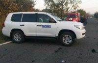 """Біля Макіївки ОБСЄ зафіксувала 21 вантажівку з боєприпасами для """"Граду"""""""