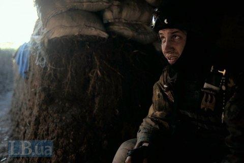 Штаб: Боевики обстреляли украинские позиции врайоне шахты «Бутовка» изтанка