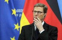 Вестервелле объяснил, почему ЕС поддерживает Майдан