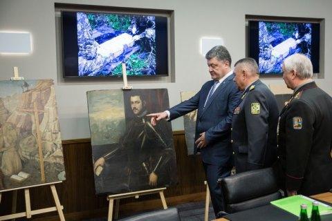 В музее Ханенко открылась выставка найденных в Украине картин из музея Вероны