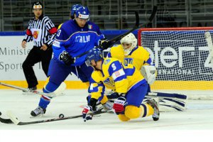 Украина, проиграв Италии, завоевала первое очко на ЧМ
