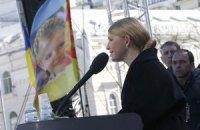 """Тимошенко виключає об'єднання народного ополчення з """"Правим сектором"""""""
