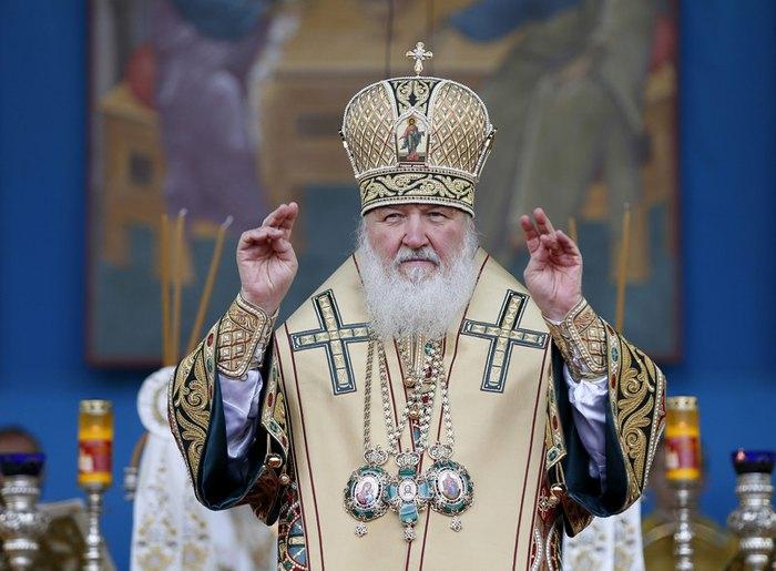 Предстоятель Русской православной церкви Кирилл