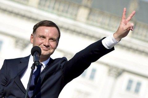 Польща підтримує санкції проти Росії до повної деокупації української території, - Дуда