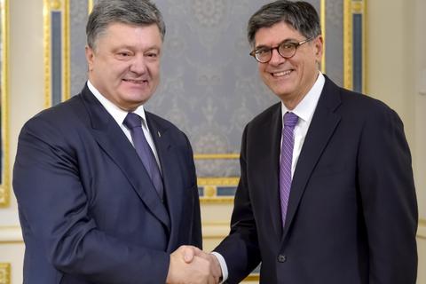 Порошенко и министр финансов США скоординировали позиции перед саммитом G20