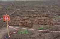 На Черкащині піротехніки виявили 192 артилерійські снаряди