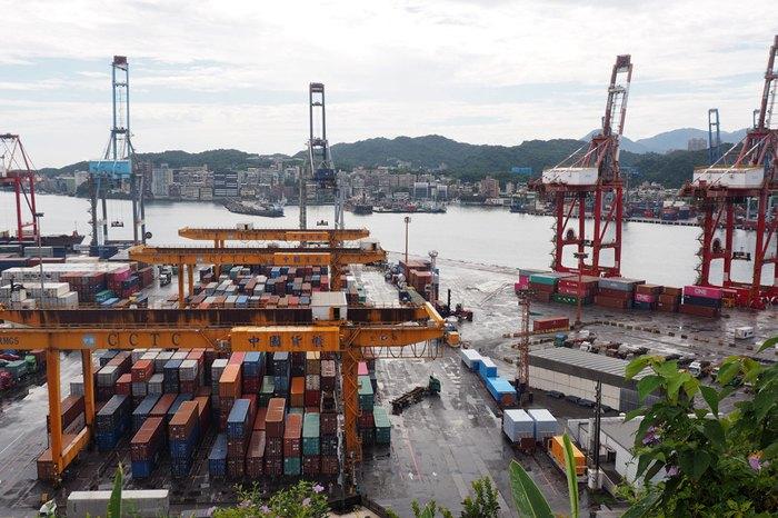 Порт Килунг, северный Тайвань, 22 июля 2019.