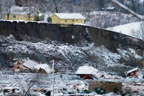У Норвегії внаслідок зсуву грунту загинуло двоє людей