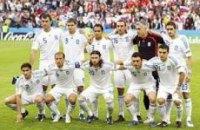 Национальная сборная Греции прибыла в Донецк