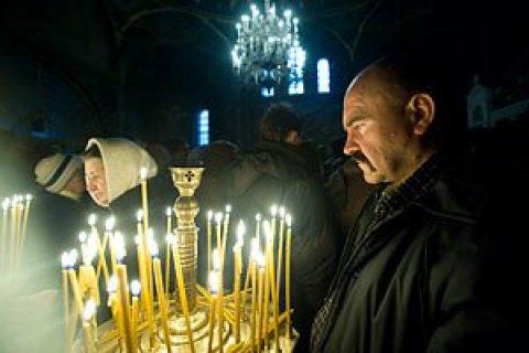 На Рождество безопасность возле храмов будут обеспечивать более 18 тысяч правоохранителей