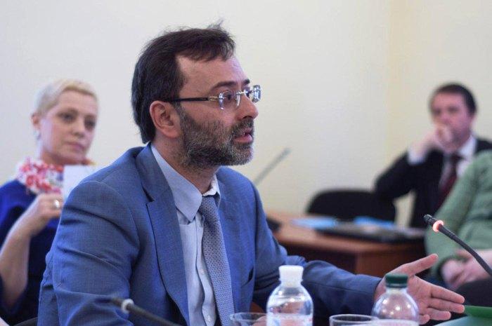 Георгій Логвинський на засіданні комітету