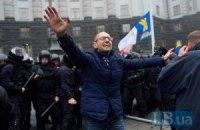 """Яценюк: """"Мы идем защищать наш Майдан"""""""