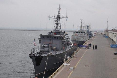 В Одессу с недельным визитом зашли четыре корабля НАТО