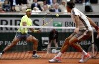 """Федерер і Надаль розіграли перший чоловічий півфінал на """"Ролан Гаррос"""""""