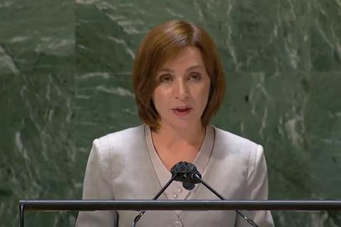 Президентка Молдови з трибуни ООН закликала вивести російські війська з Придністров'я
