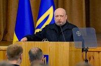 Турчинов попросил денег на блокирование российских каналов в зоне АТО