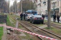 В центре Днепра расстреляли внедорожник, убит мужчина