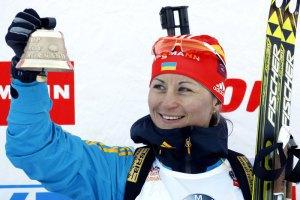 Валя Семеренко випередила Домрачеву й піднялася на друге місце в заліку Кубка світу