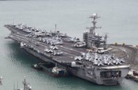 """США допускают отправку к Корейскому полуострову двух авианосцев, - """"Синьхуа"""""""
