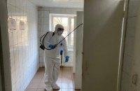 У гуртожитку медакадемії в Києві провели дезінфекцію через підозру на коронавірус
