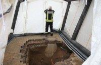 У німецькому містечку Шпенге виявили восьмиметровий тунель, що веде до банку