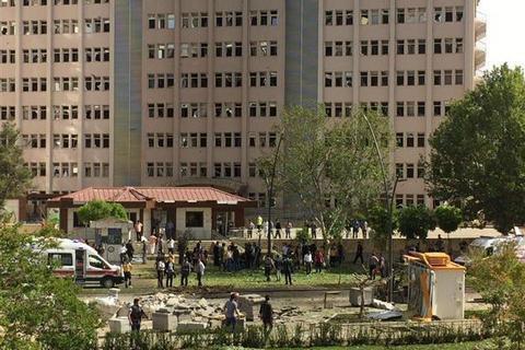 У Газіантепі біля поліцейської дільниці стався вибух, є загиблі (оновлено)