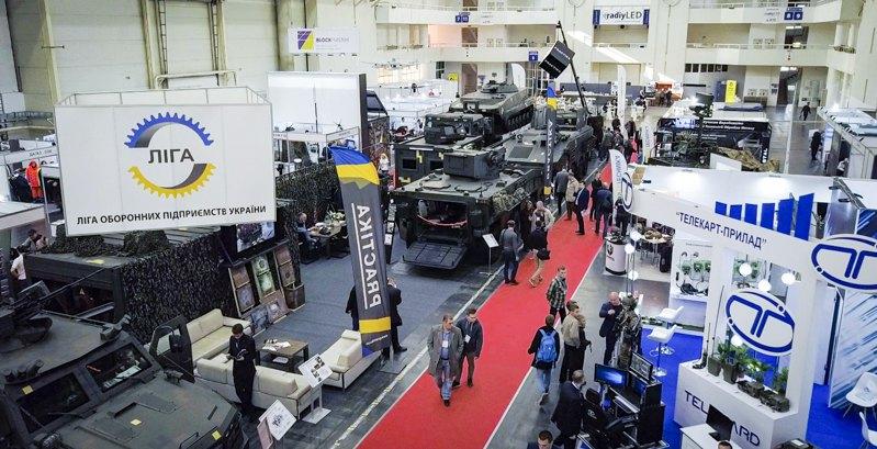Виставка продукції компаній-членів 'Ліги оборонних підприємств України'.