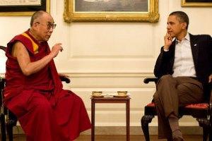 Обама провел встречу с Далай-ламой, Китай возмущен