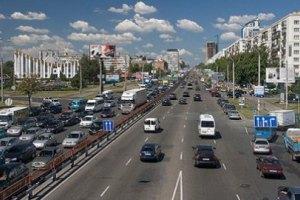 На проспекте Победы в Киеве на три месяца ограничили движение