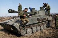 Бойовики обстрілюють сили АТО на всій лінії фронту