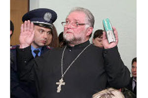 Священник призвал Пшонку прислушаться к своей совести