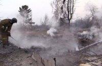 Площадь лесных пожаров в Сибири выросла в четыре раза