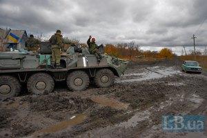 Сили АТО відбили атаку бойовиків у Пісках