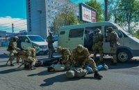 Антитерористичні навчання за участю тисячі силовиків та 100 одиниць спецтехніки провели у Вінниці