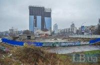 «Киевгорстрой» отрицает, что раскопал озеро на проспекте Победы