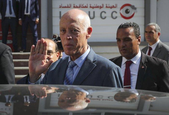 Новообраний президент Тунісу Каїс Саїд, Туніс, 21 жовтня 2019 р.