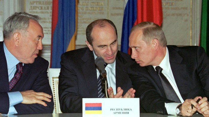 Встреча в Кремле, май 2002 года