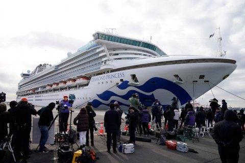 У трьох пасажирів лайнера Diamond Princess, що повернулися в РФ, виявили коронавірус