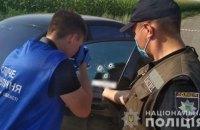Під Полтавою розстріляли елітний Mercedes