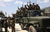 Армия Асада установила контроль над пригородом Дамаска