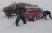 Киевлян призвали не пользоваться личными авто на выходных из-за непогоды